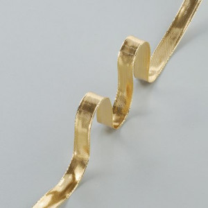 Drahtband Gold, 15 mm, gold, 25 m