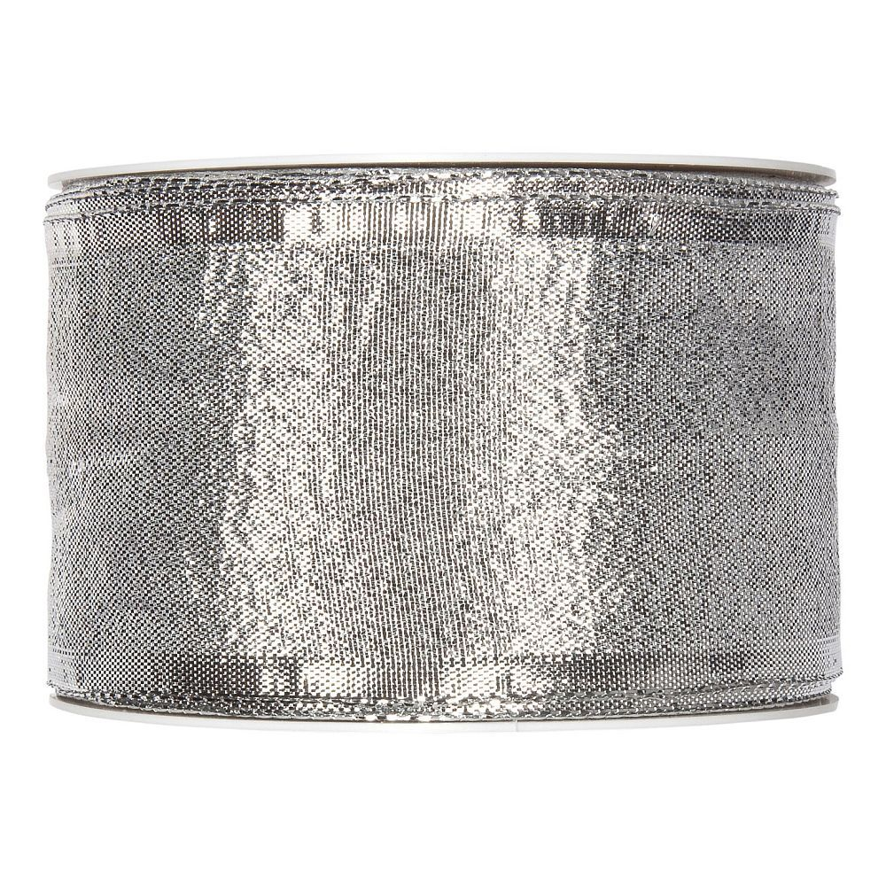 Drahtband Lamee, 25 mm, 25 m, silber-1253325